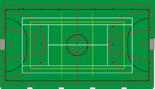 площадки (волейбол,